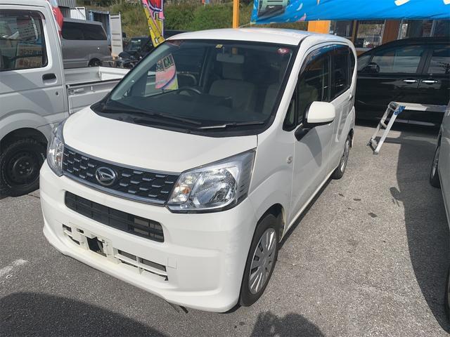 沖縄の中古車 ダイハツ ムーヴ 車両価格 49万円 リ済込 2015(平成27)年 10.4万km ホワイト
