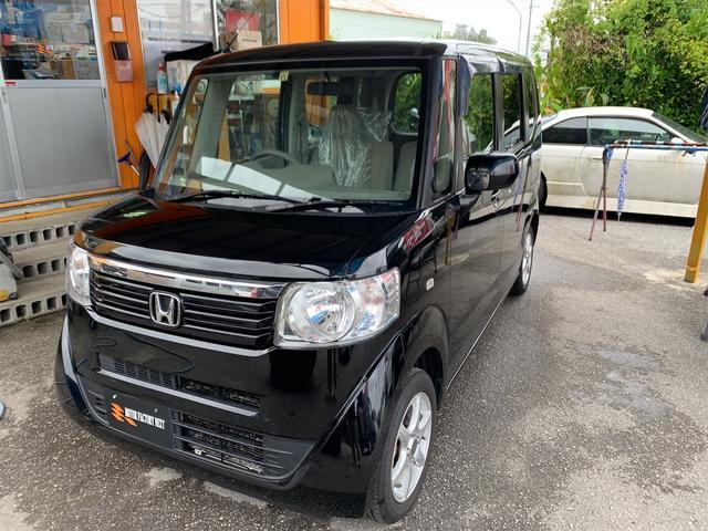 沖縄県名護市の中古車ならN-BOX G 2年保証付き・2年間オイル交換無料