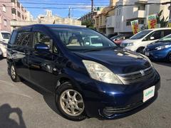 沖縄の中古車 トヨタ アイシス 車両価格 28万円 リ済別 平成17年 7.7万K 紺M