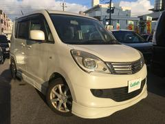 沖縄の中古車 スズキ ソリオ 車両価格 58万円 リ済別 平成25年 9.3万K パールホワイト