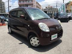 沖縄の中古車 日産 モコ 車両価格 39万円 リ済別 平成20年 10.6万K ブラウン