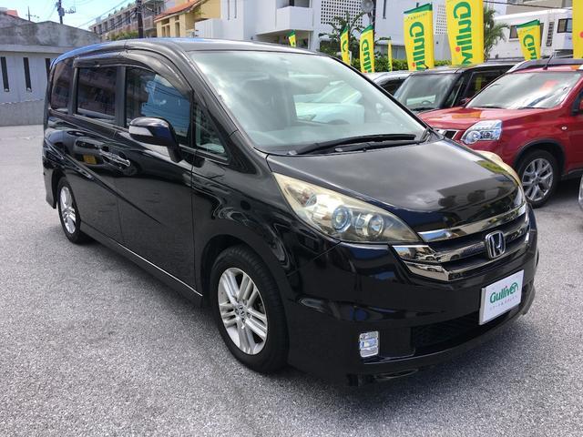 沖縄の中古車 ホンダ ステップワゴン 車両価格 88万円 リ済別 平成20年 4.6万km プレミアムブラキッシュパール