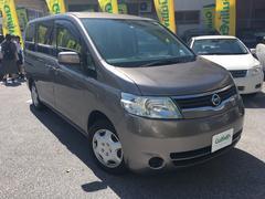 沖縄の中古車 日産 セレナ 車両価格 39万円 リ済別 平成17年 9.0万K アイアンM