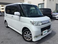 沖縄の中古車 ダイハツ タント 車両価格 48万円 リ済別 平成20年 9.4万K パールホワイトIII