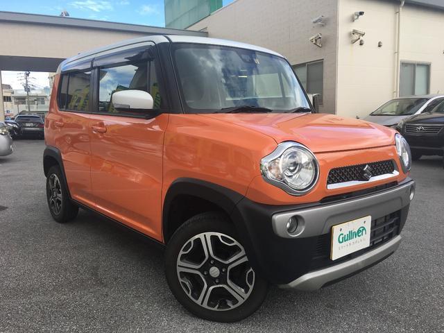 沖縄県の中古車ならハスラー X ツートンカラー/バックカメラ