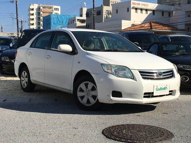 沖縄県の中古車ならカローラアクシオ X HDDナビ ワンセグTV