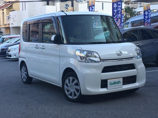 沖縄の中古車 ダイハツ タント 車両価格 109万円 リ済別 平成26年 2.3万km ホワイト