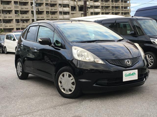 沖縄の中古車 ホンダ フィット 車両価格 45万円 リ済別 平成21年 5.8万km クリスタルブラックパール
