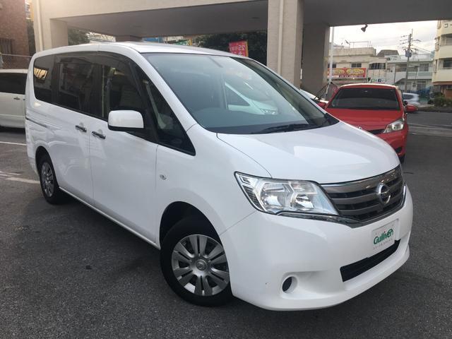 沖縄の中古車 日産 セレナ 車両価格 118万円 リ済別 平成25年 5.7万km ホワイト