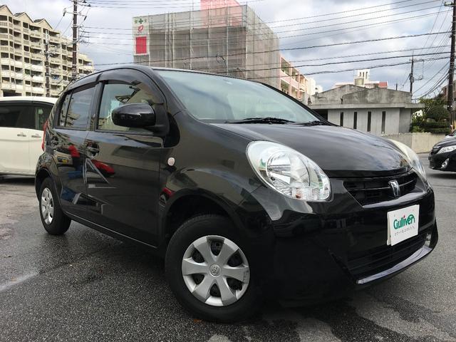 沖縄の中古車 トヨタ パッソ 車両価格 48万円 リ済別 平成22年 4.0万km ブラックマイカメタリック