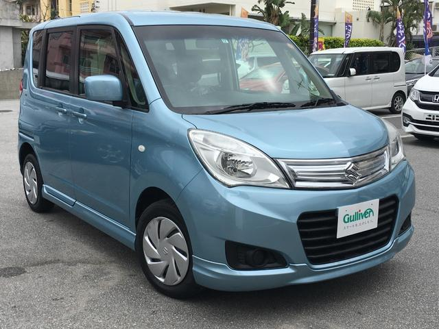 沖縄県の中古車ならソリオ Gリミテッド 社外SDナビ 電動格納ミラー ETC