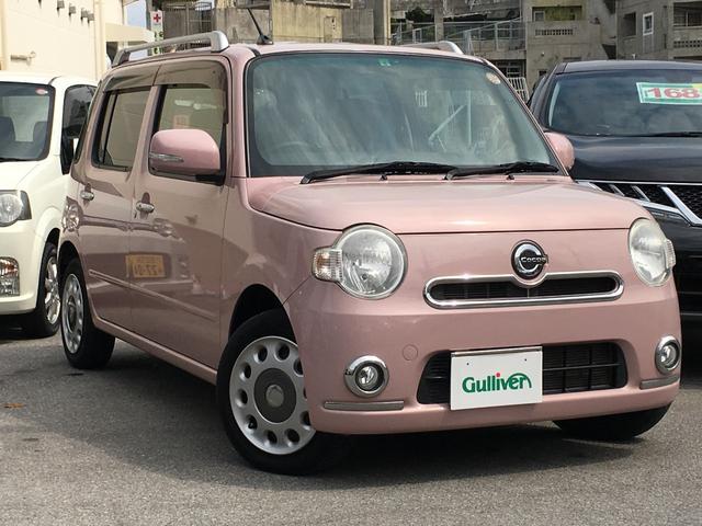 沖縄県の中古車ならミラココア ココアプラスX SDナビ バックカメラ ETC 電格ミラー