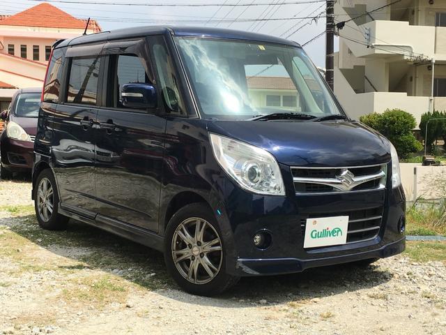 沖縄の中古車 スズキ パレット 車両価格 49万円 リ済別 平成20年 10.7万km ノクターンブルーパール