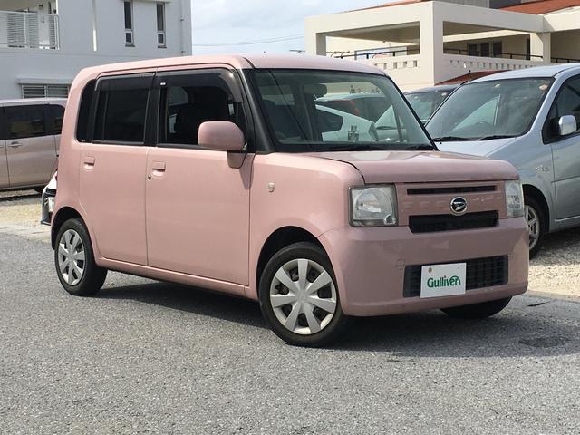 沖縄県の中古車ならムーヴコンテ L 社外オーディオ AUX 電動格納ミラー