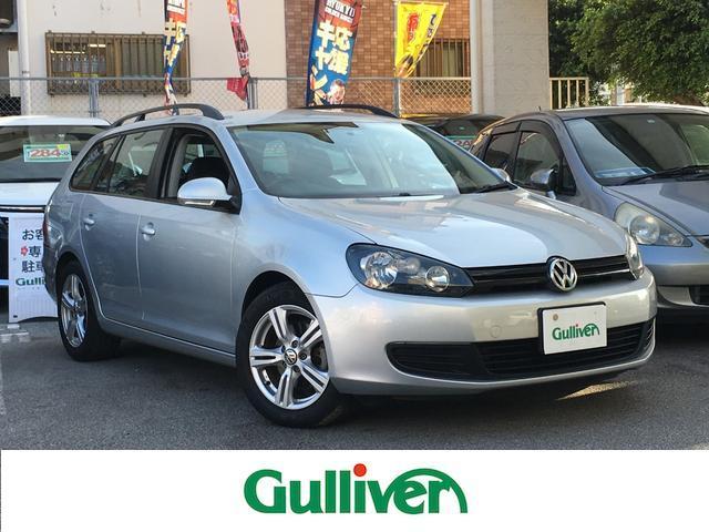 沖縄の中古車 フォルクスワーゲン VW ゴルフヴァリアント 車両価格 59万円 リ済別 2011年 6.5万km シルバー