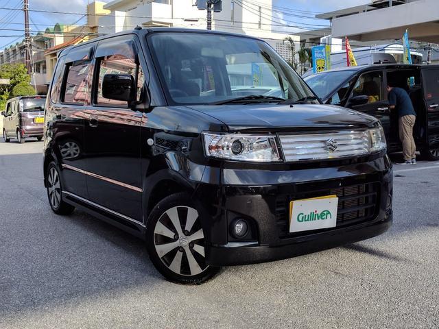 沖縄の中古車 スズキ ワゴンR 車両価格 45万円 リ済別 2008(平成20)年 6.7万km ブラック