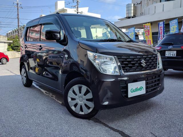 沖縄県那覇市の中古車ならワゴンR FX 社外オーディオ アイドリングストップ スペアキー