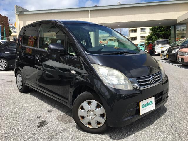 沖縄の中古車 ダイハツ ムーヴ 車両価格 39万円 リ済別 2008(平成20)年 7.3万km ブラックマイカ