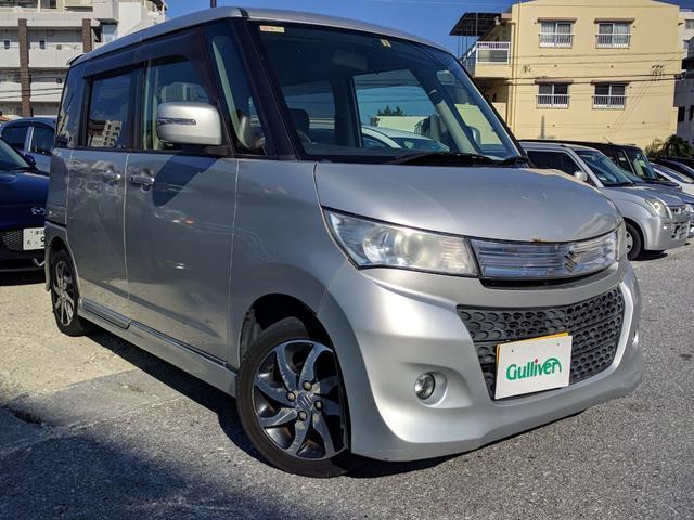 沖縄県の中古車ならパレットSW TS 両側パワスラ バックモニター