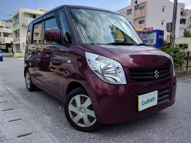 沖縄の中古車 スズキ パレット 車両価格 49万円 リ済別 2008(平成20)年 8.6万km クラッシーレッドパール