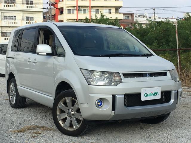 沖縄県の中古車ならデリカD:5 G パワーパッケージ 社外HDDナビ ワンセグ バックカメラ