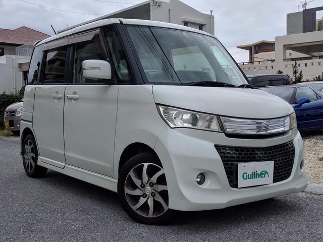 沖縄県の中古車ならパレットSW XS 片側パワスラ 社外ナビ ETC
