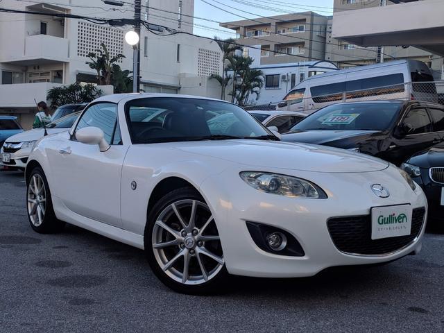 沖縄県の中古車ならロードスター RS RHT 6MT シートヒーター 純正AW ETC