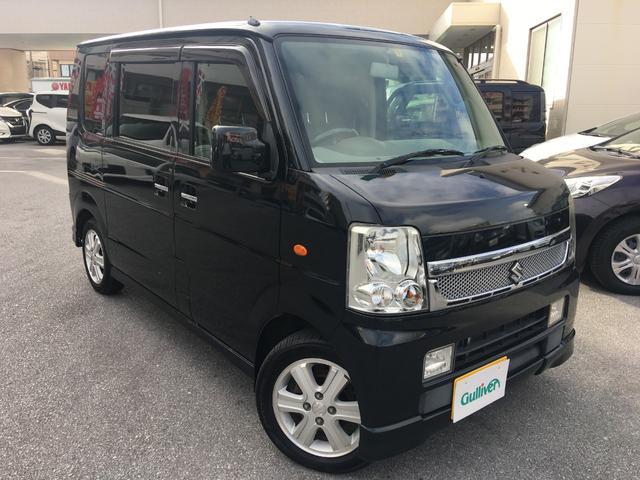 沖縄県の中古車ならエブリイワゴン PZターボスペシャル 両Pスライドドア オートステップ