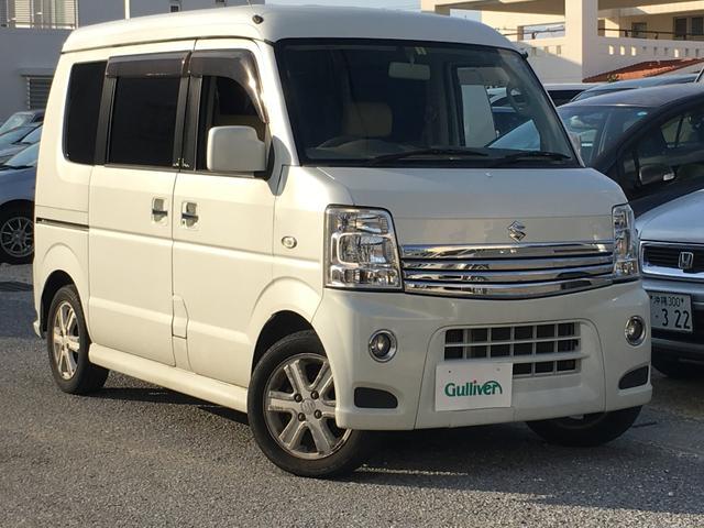 沖縄県の中古車ならエブリイワゴン PZターボスペシャル 社外ナビ 後席モニタ 両側パワスラドア