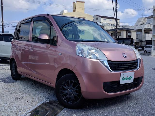 沖縄の中古車 ホンダ ライフ 車両価格 39万円 リ済別 2009(平成21)年 9.7万km ピンクM