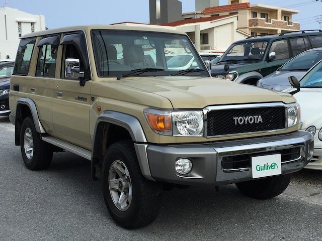 沖縄県の中古車ならランドクルーザー70 バン