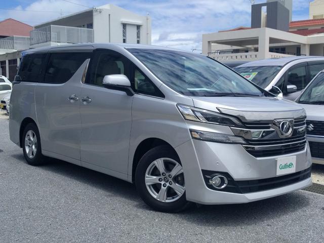 沖縄県那覇市の中古車ならヴェルファイア 2.5X パワスラ SDナビ Bluetooth ETC