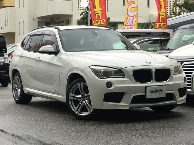 BMW X1 sDrive 20i Mスポーツ 社外HDDナビ Bカメラ