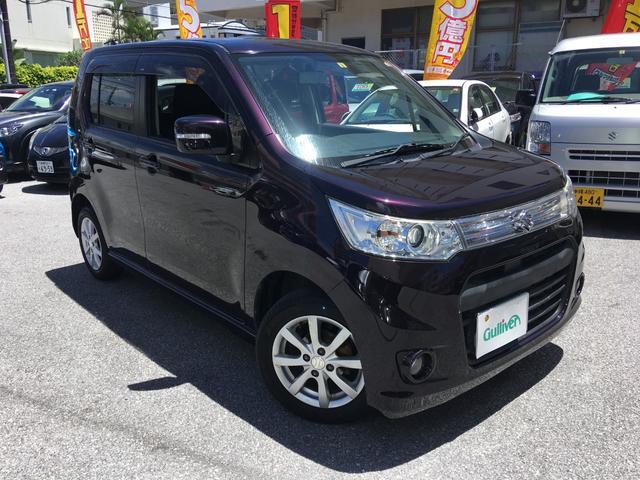 沖縄県那覇市の中古車ならワゴンRスティングレー X
