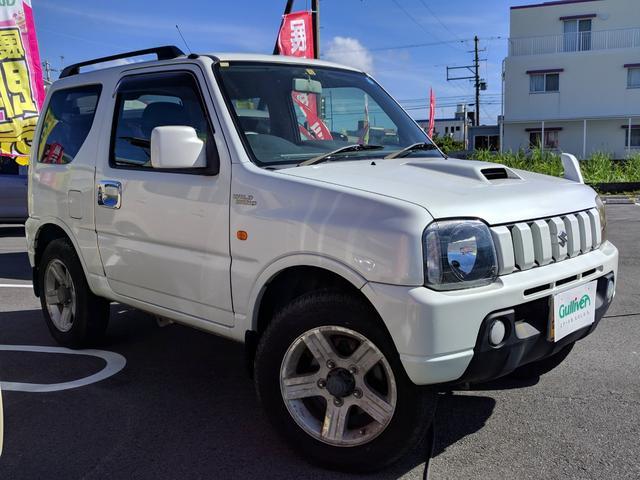 沖縄の中古車 スズキ ジムニー 車両価格 54万円 リ済別 2007(平成19)年 10.2万km パールホワイト
