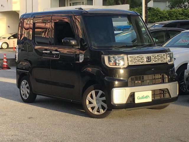沖縄県の中古車ならウェイク D 純正ナビ ワンセグ Bluetooth フロアマット付