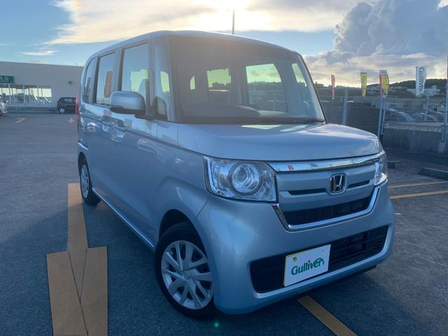 沖縄県那覇市の中古車ならN-BOX G・Lホンダセンシング 社外ナビ スマートキー Bカメラ