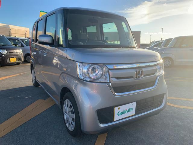 沖縄県の中古車ならN-BOX G・Lホンダセンシング 社外ナビ スマートキー Bカメラ