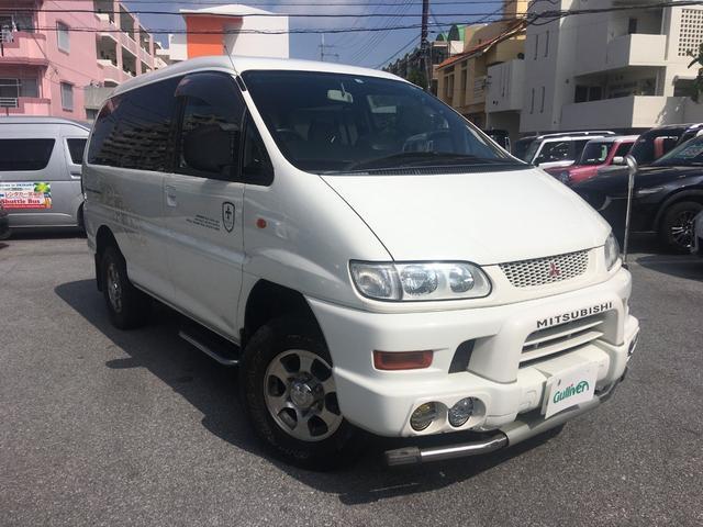 沖縄県の中古車ならデリカスペースギア シャモニー キーレス 4WD 15インチAW CD再生