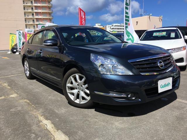 沖縄の中古車 日産 ティアナ 車両価格 64万円 リ済別 2013(平成25)年 8.7万km スチールブルーM