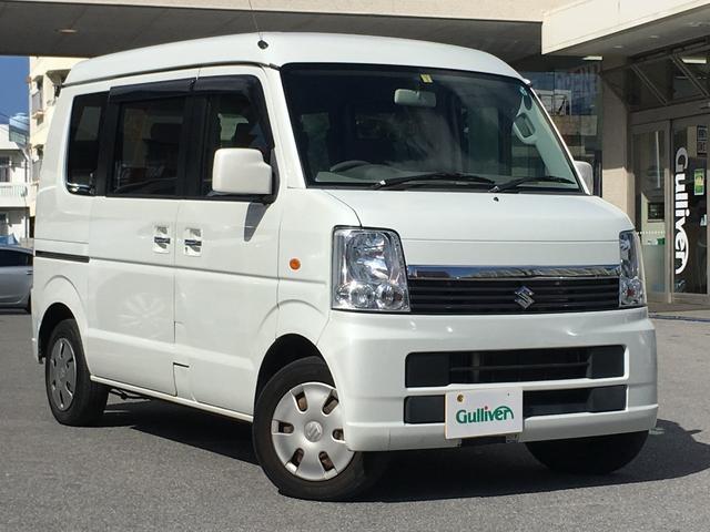 沖縄の中古車 スズキ エブリイワゴン 車両価格 39万円 リ済別 2010(平成22)年 17.6万km パールホワイト