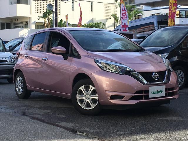 沖縄県の中古車ならノート X 内地仕入れ プッシュスタート スマートキー 社外ナビ バックカメラ ETC Bluetooth フロアマット ウィンカーミラー 電動格納ミラー