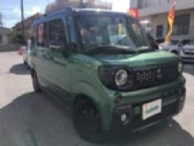 沖縄県の中古車ならスペーシアギア ハイブリッドXZ ターボ