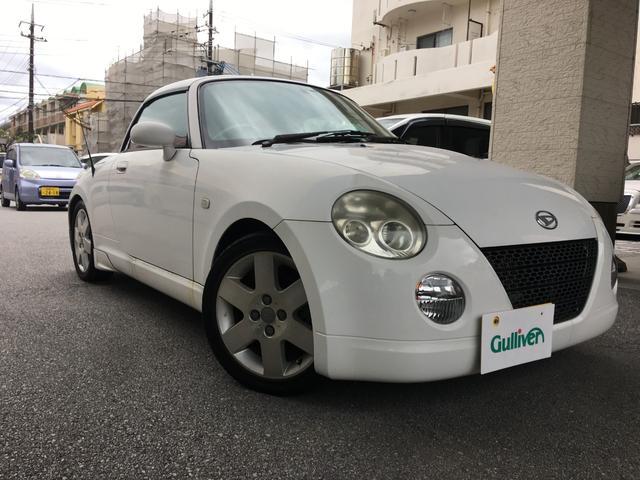 沖縄の中古車 ダイハツ コペン 車両価格 59万円 リ済別 2005(平成17)年 10.1万km ホワイト