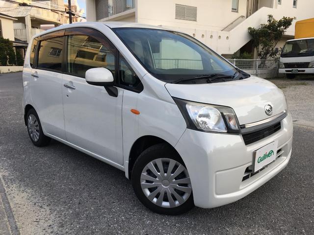 沖縄の中古車 ダイハツ ムーヴ 車両価格 64万円 リ済別 2013(平成25)年 3.1万km パールホワイトIII