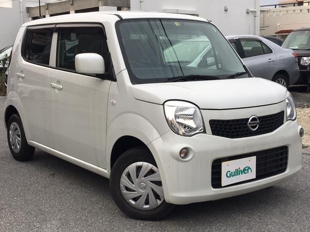 沖縄の中古車 日産 モコ 車両価格 69万円 リ済別 2015(平成27)年 5.0万km ホワイト