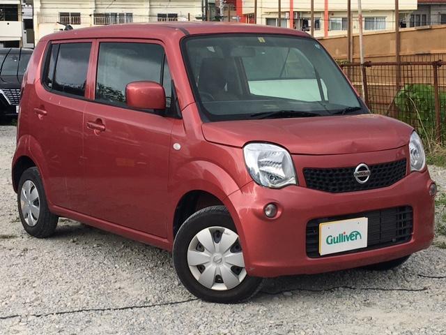 沖縄の中古車 日産 モコ 車両価格 64万円 リ済別 2013(平成25)年 1.5万km ピンク