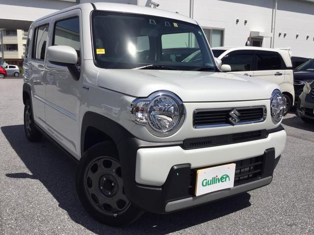 沖縄県の中古車ならハスラー ハイブリッドGターボ Bluetooth シートヒーター キーレスエントリー アイドリングストップ クリアランスソナー レーンアシスト オートライト フルフラット