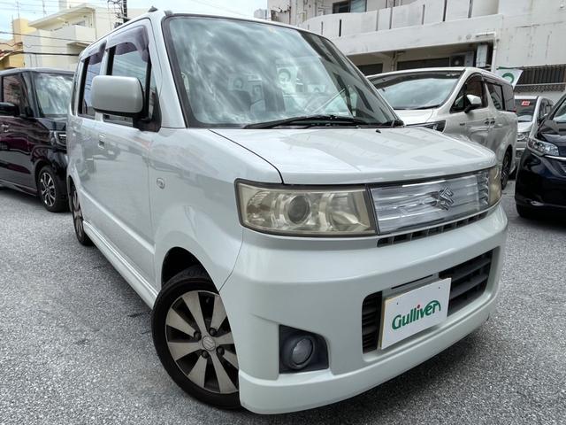 沖縄の中古車 スズキ ワゴンR 車両価格 34万円 リ済別 2007(平成19)年 10.3万km パールホワイト
