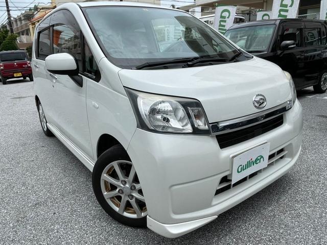沖縄の中古車 ダイハツ ムーヴ 車両価格 48万円 リ済別 2014(平成26)年 9.2万km パールM